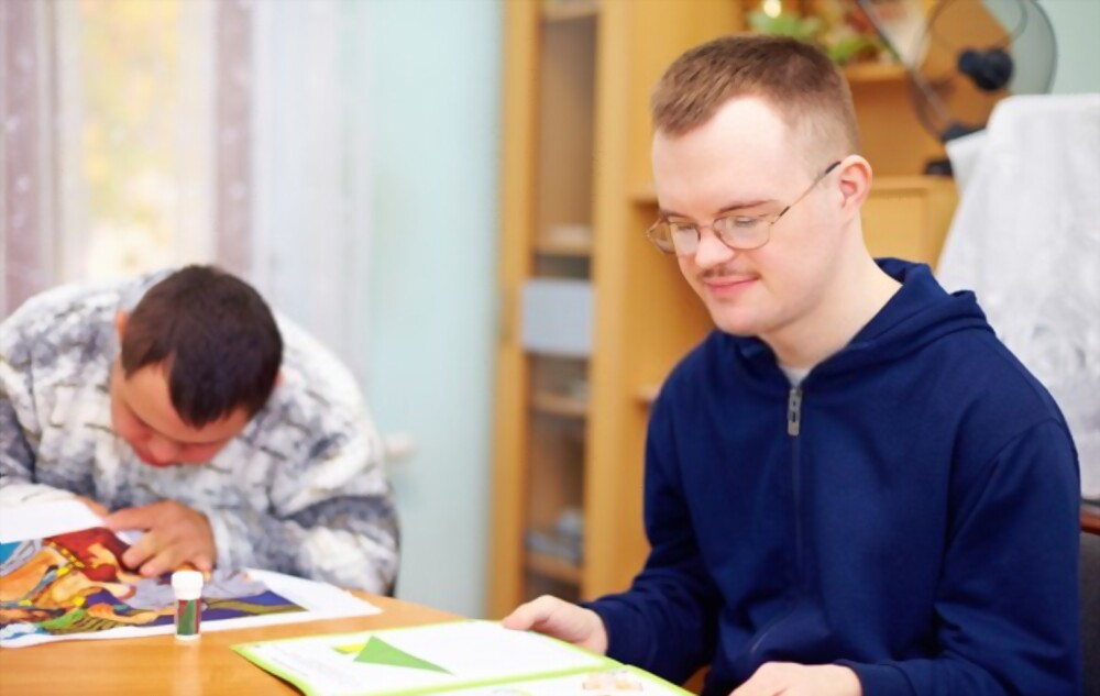 learning disability drawing happy faces